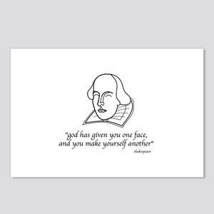 Shakespeare's quote Postcards (Package of 8)