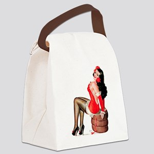 PDriben-SilkStockingsHighHeels Canvas Lunch Bag
