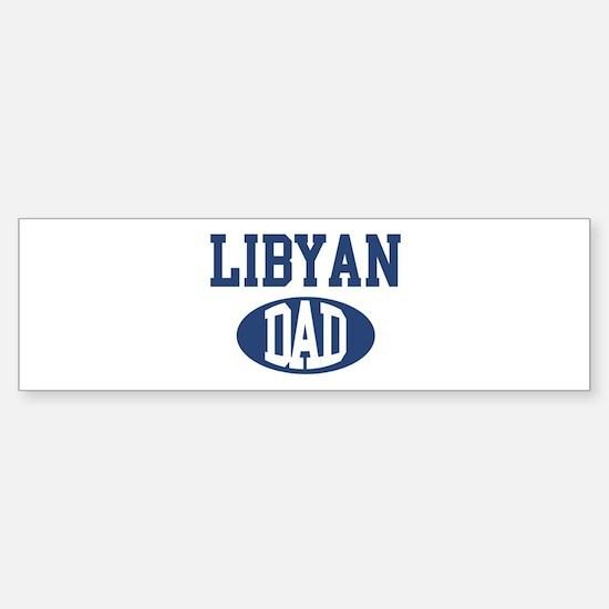 Libyan dad Bumper Bumper Bumper Sticker