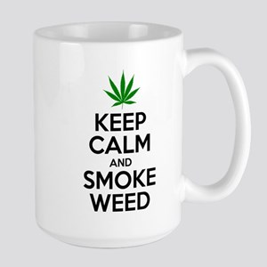 Keep Calm And Smoke Weed Mugs