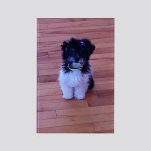 Schnoodle love Rectangle Magnet