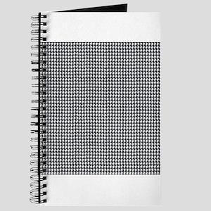 Denim Jean Houndstooth Pattern Journal