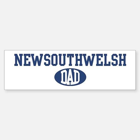 NewSouthWelsh dad Bumper Bumper Bumper Sticker
