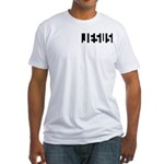 Jesus F Fitted T-Shirt
