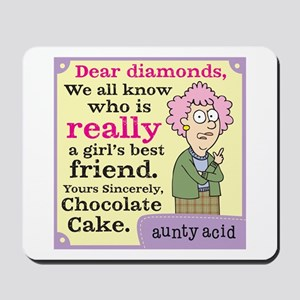 Aunty Acid: Dear Diamonds Mousepad