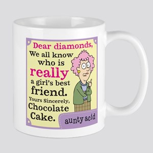 Aunty Acid: Dear Diamonds Mug