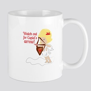 Watch Out For Cupid's Arrow! Mugs