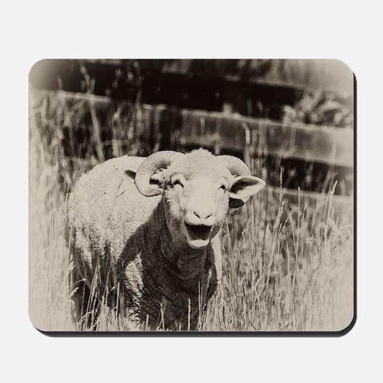 Cute Sheep Mousepad