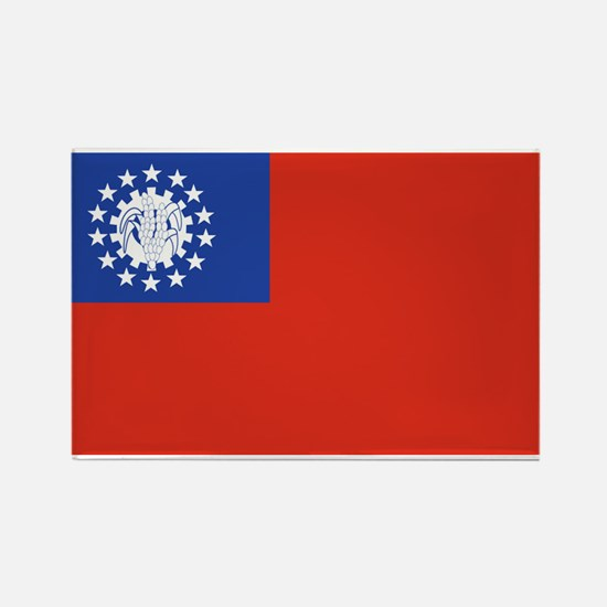Myanmar Rectangle Magnet