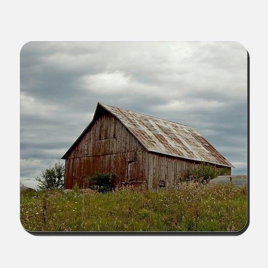 Vintage Iowa Barn  Mousepad
