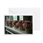 """""""Chenonceau Roses"""" Note Cards (Pk of 10)"""