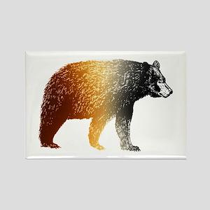 Le Bear - Rectangle Magnet
