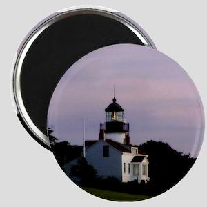 Pebble Beach Lighthouse Magnets