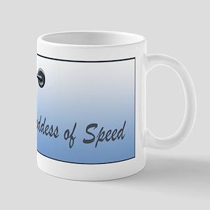 The Goddess of Speed Mug