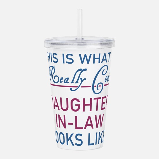 Cute Daughter in law Acrylic Double-wall Tumbler