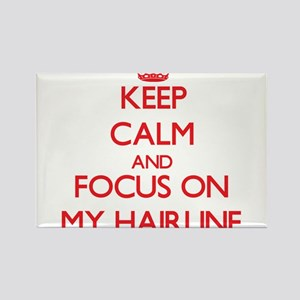 Keep Calm and focus on My Hairline Magnets