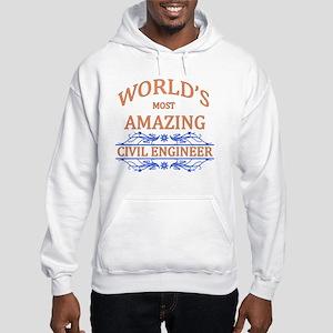 Civil Engineer Hooded Sweatshirt