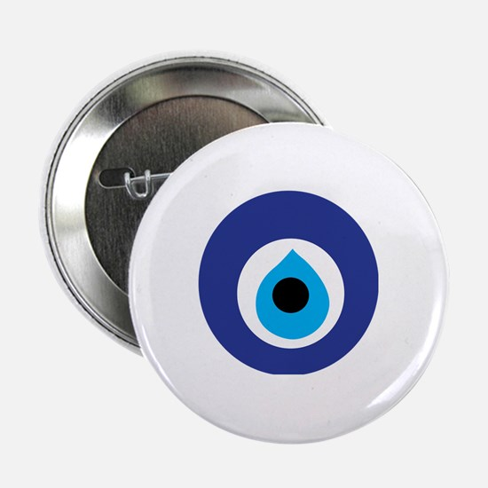 "Turkish Eye (Evil Eye) 2.25"" Button"