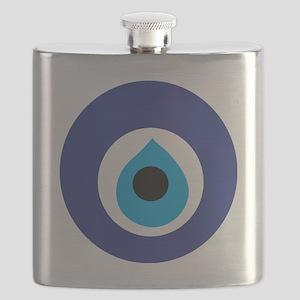 Turkish Eye (Evil Eye) Flask