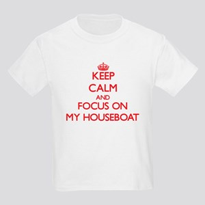 Keep Calm and focus on My Houseboat T-Shirt