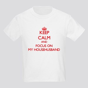 Keep Calm and focus on My Househusband T-Shirt