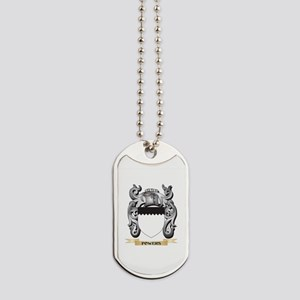 Powers Coat of Arms - Family Crest Dog Tags