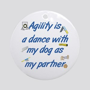 Agility Dance Ornament (Round)