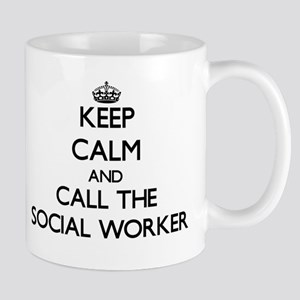 Keep calm and call the Social Worker Mugs
