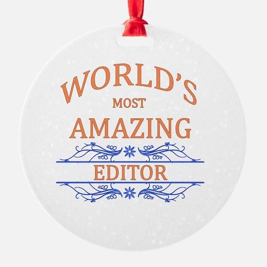 Editor Ornament