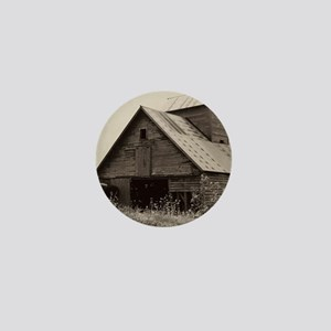 Iowa Barn  Mini Button