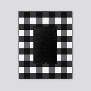 Black And White Checkered Picture Frames Cafepress