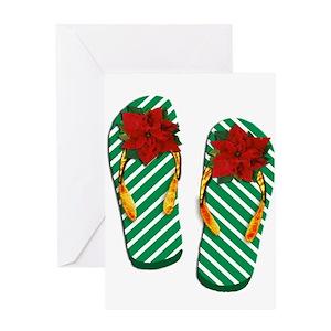 18bbbd335 Beach Christmas Greeting Cards - CafePress
