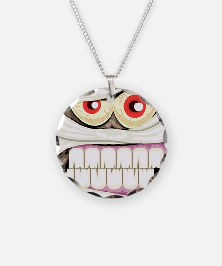 Mummy Face Necklace