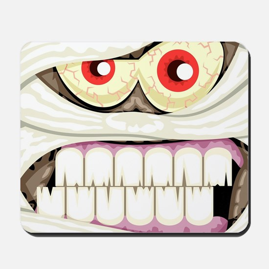 Mummy Face Mousepad