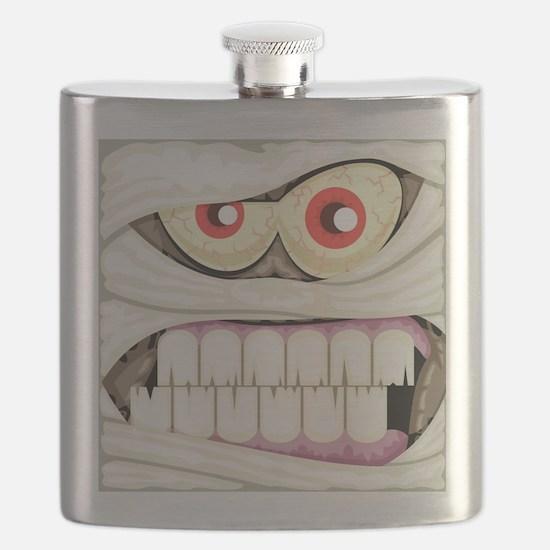 Mummy Face Flask