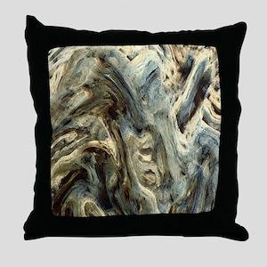 Deformation Throw Pillow