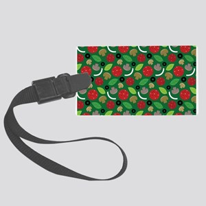 Pizza Lover Large Luggage Tag