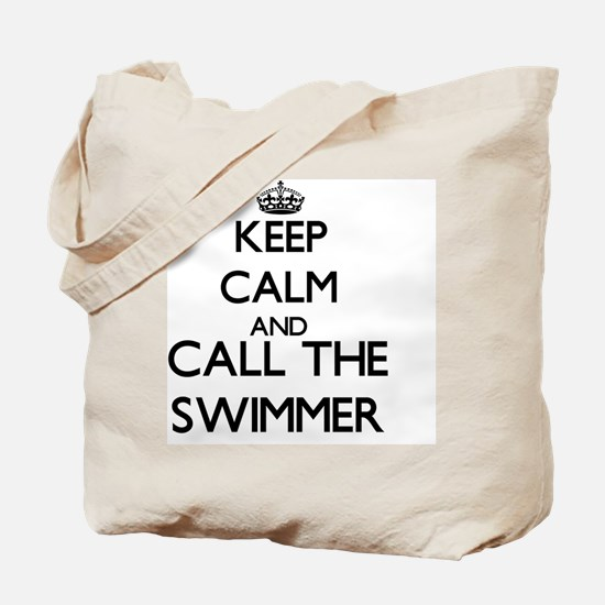 Unique Keep calm and swim Tote Bag