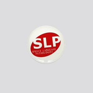 Speech Language Pathologist Mini Button