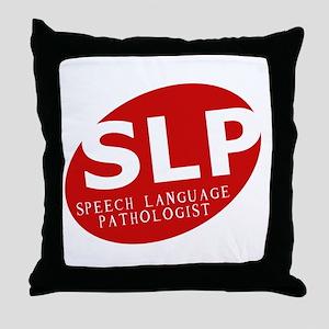 Speech Language Pathologist Throw Pillow