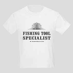 Fish Tool Spst. Kids Light T-Shirt