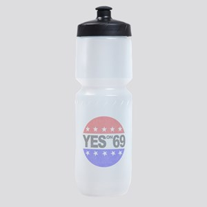 YES on 69 Sports Bottle