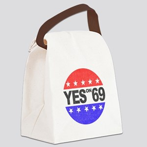 YES on 69 Canvas Lunch Bag