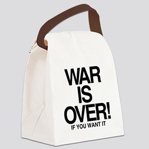 WAR is OVER Canvas Lunch Bag