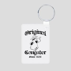 Original Gangster Aluminum Photo Keychain