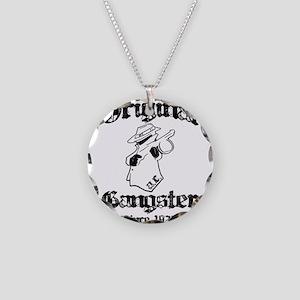 Original Gangster Necklace Circle Charm