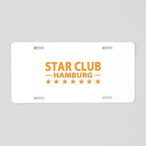 Star Club Hamburg Aluminum License Plate