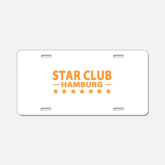 Star Club Hamburg Aluminum License Plate