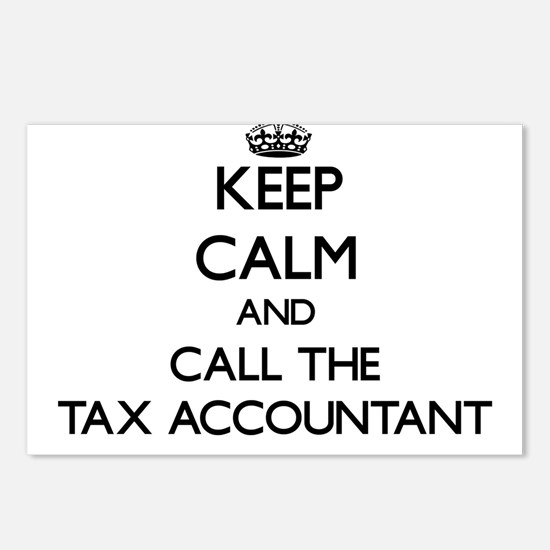 Funny Accountant party Postcards (Package of 8)