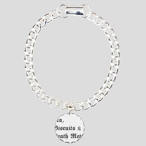 Death Metal Charm Bracelet, One Charm